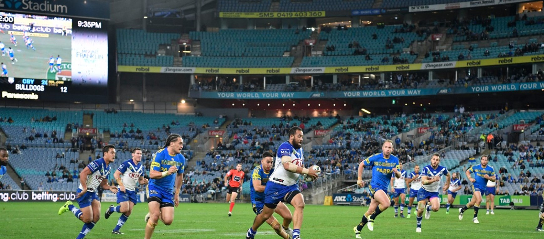 GALLERY: Eels Game Round 17