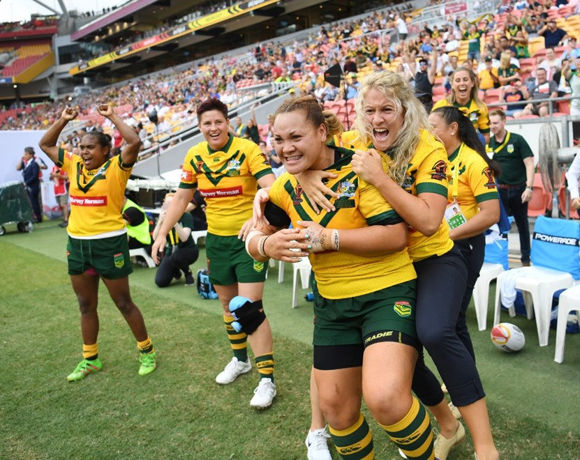 RLWC Womens Final at Suncorp Stadium.Picture : NRL Photos /Gregg Porteous