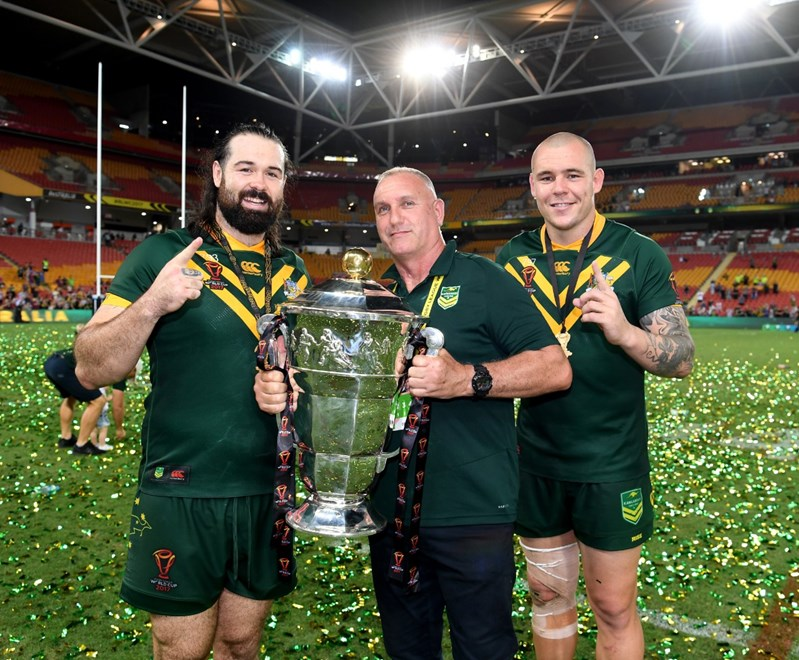 RLWC Mens Final at Suncorp Stadium.Picture : NRL Photos /Gregg Porteous