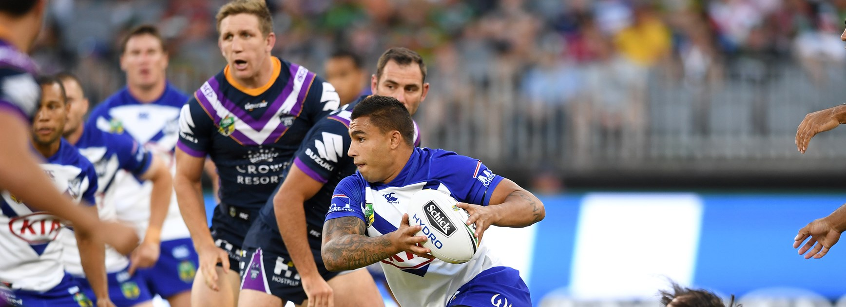 Storm pick up where they left off to defeat Bulldogs