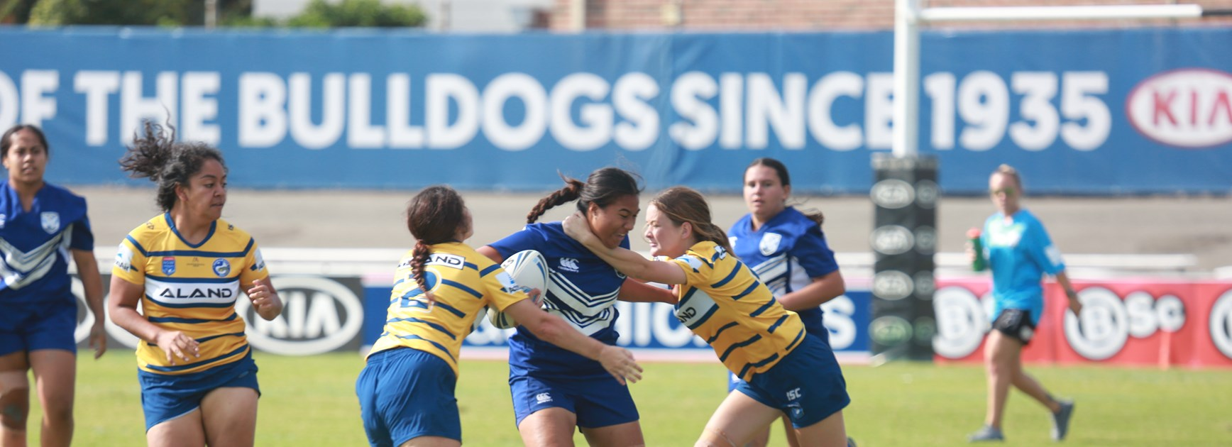 Tarsha Gale | Bulldogs go down to Parramatta Eels at Belmore