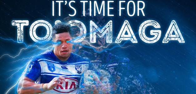 Renouf To'omaga to debut for the Bulldogs against Parramatta