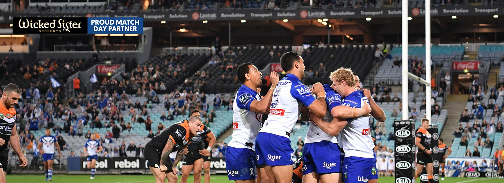 Dogs defence stands tall in victory over Tigers