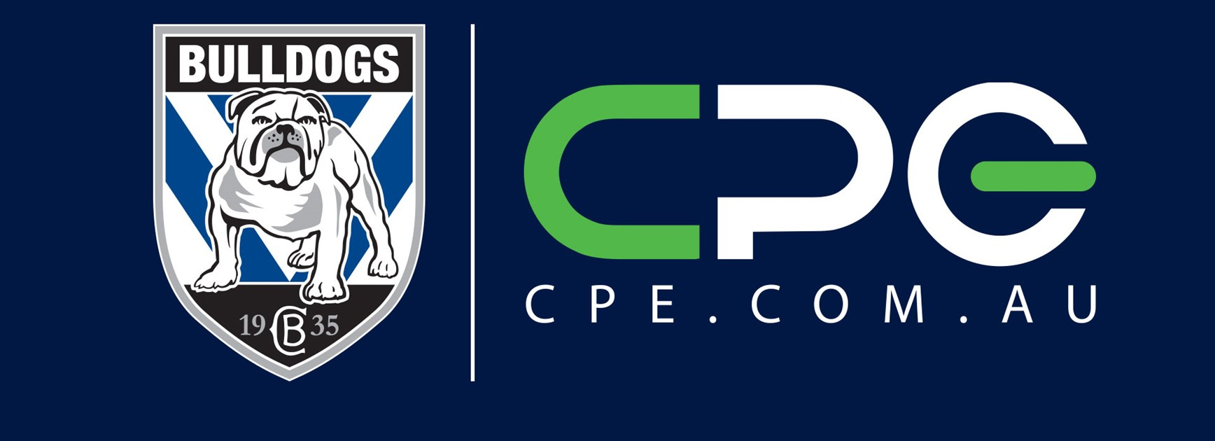 CPE sign on as back of shorts sponsor for the Bulldogs