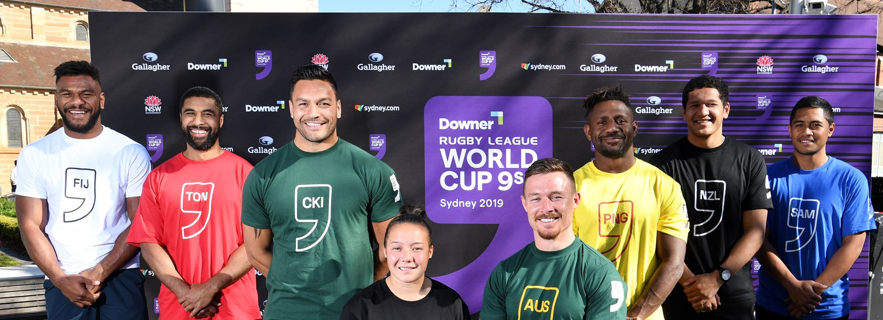 Downer Rugby League World Cup 9s draw announced