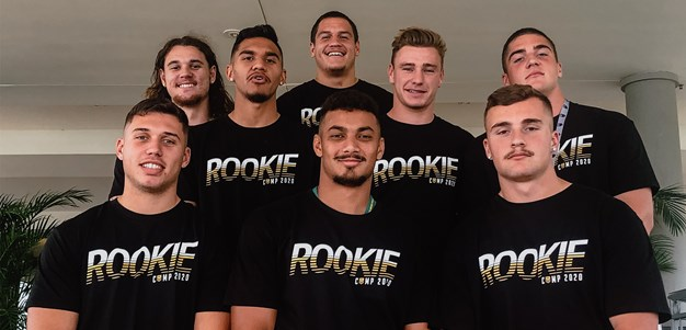 Eight Bulldogs attend 2020 NRL Rookie Camp