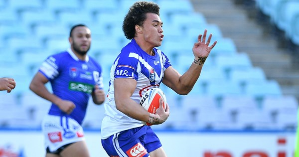 Four Bulldogs named in Canterbury Cup Team of the Week