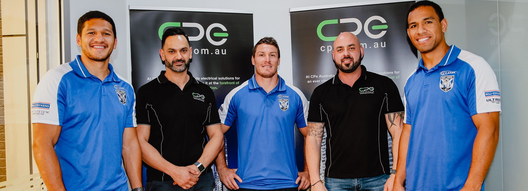 CPE extend sponsorship with Bulldogs for further two years
