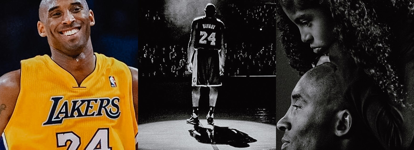 Former and current Bulldogs players paid tribute to Kobe Bryant