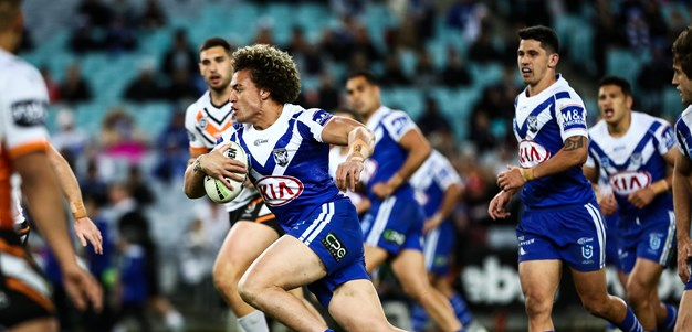 Last time they met: Bulldogs v Wests Tigers - Round 21, 2019