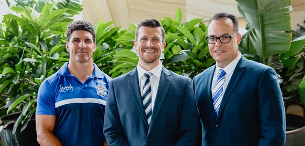 Bulldogs appoint Aaron Warburton as new CEO