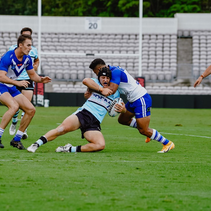 Jersey Flegg fall in Sharks trial