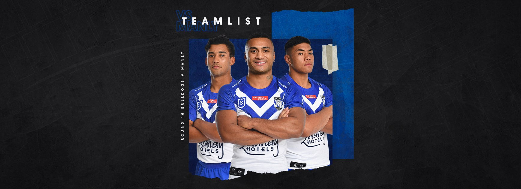 Round 16 Team News: Bulldogs confirm line-up for Sea Eagles clash