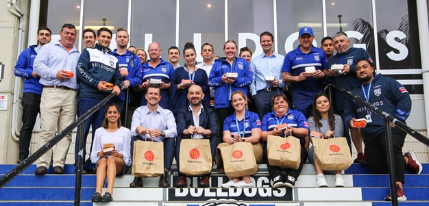 McDonald's join Bulldogs as Official Quick Service Restaurant Partner
