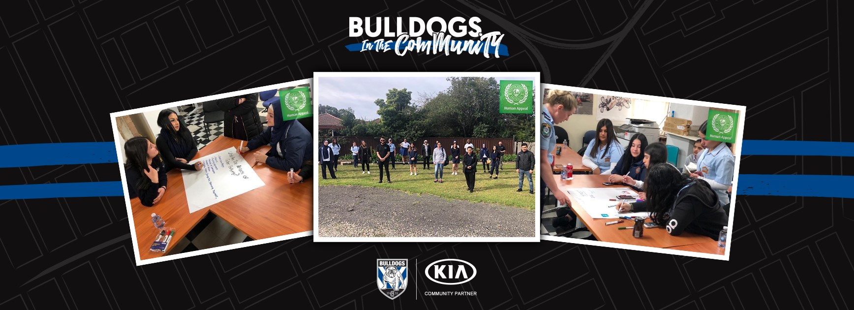 Bulldogs in the Community - 'Wise Up' Program